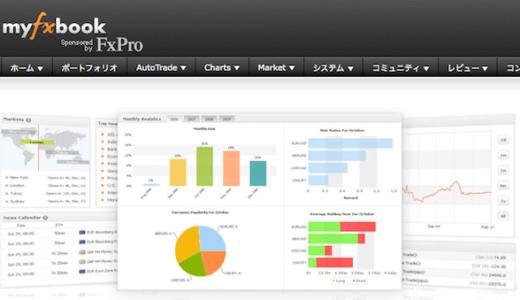 MT4の取引情報を管理・公開できる「Myfxbook」の設定方法